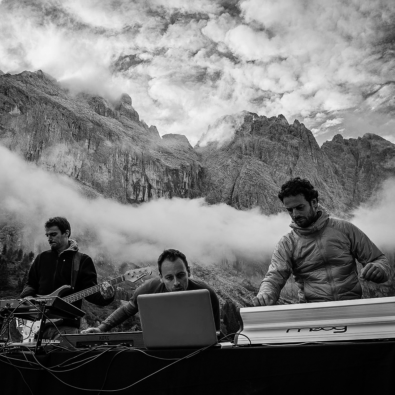 gizA djs - live set on Dolomites
